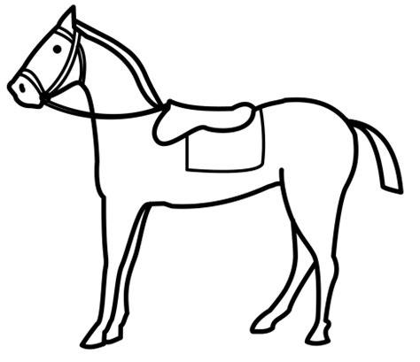 imagenes para colorear un caballo dibujos para colorear de caballos