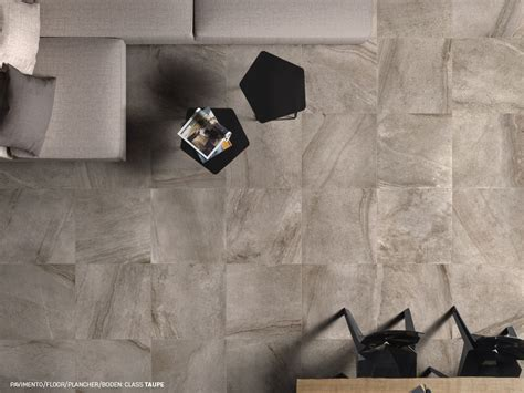 Marble and stone effect porcelain stoneware floorings