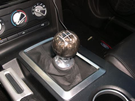 Mustang Gt Shifter Knob by New Shift Knob From Grabber Pony The Mustang Source