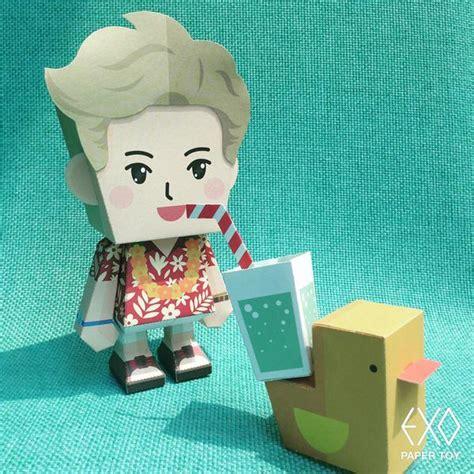Do Exo Papertoy Exo Me Right Paper Kpopmerchandiseworld