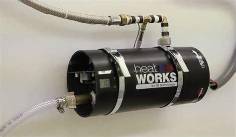 heatworks model  kickstarter saves water  energy
