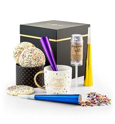 confetti by happybox happy birthday confetti box gourmet gift baskets send an