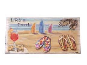 Beach Home Decor Wholesale by Buy Wooden Life S A Beach Sign 10 Inch Wholesale Sealife