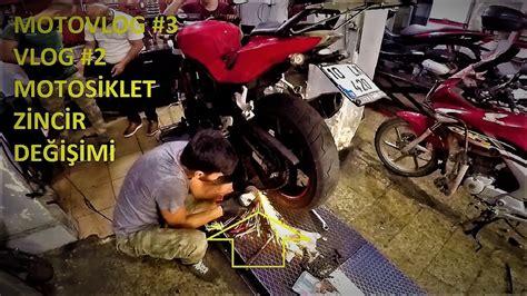 motosiklet zincir degisimi nasil yapilir youtube
