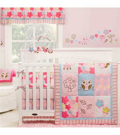 woodland nursery bedding set graco woodland 4 crib bedding set by kidsline