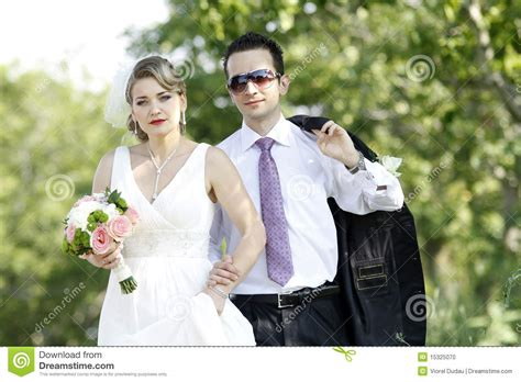 Just For Couples Just Married Stock Photo Image 15325070
