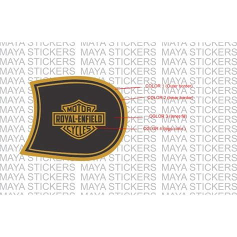 Harley Davidson Style Guide by Harley Davidson Style Fuel Tank Sticker For Re Classic 350