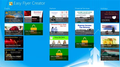 flyer design software for windows easy flyer creator for windows 8 and 8 1