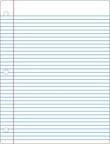 Printable Notebook Paper December 2009 32 Up