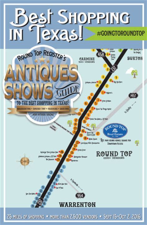 roundtop texas map 36 excellent top antiques show things fall 2016