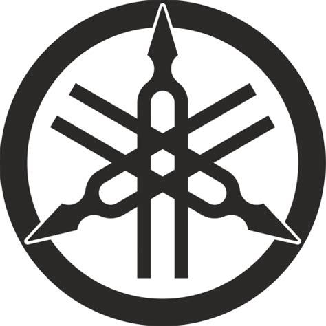 Yamaha Aufkleber Logo by Yamaha Tuning Forks Logo