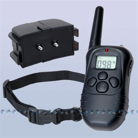 shock collar with remote 100lv 300m remote anti bark shock collar ebay