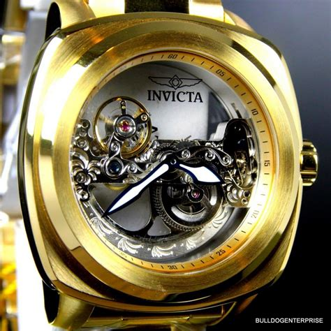 K Link K Ewrist Band 48mm Yellow mens invicta aviator ghost bridge mechanical skeleton gold plated 48mm new 886678305803 ebay