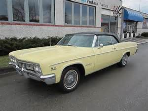 1966 Chevrolet Impala Ss Convertible For Sale Sell Used 1966 Impala Ss S 396 Big Block Auto Power