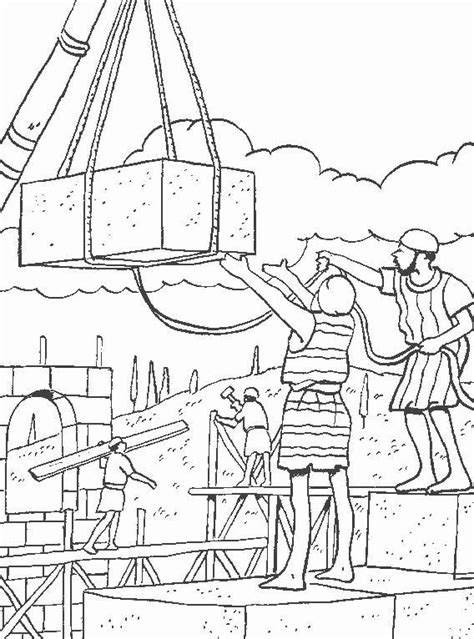 coloring page for nehemiah 1000 images about bible ot nehemiah on pinterest