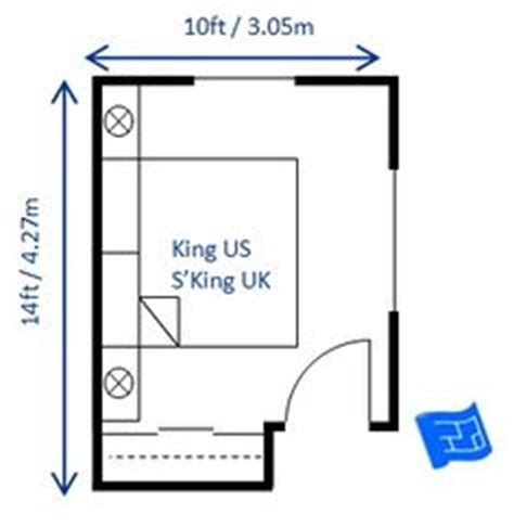 Bedroom Size Recommendations Dimensions Of A King Bed 180 X 200cm W X L And