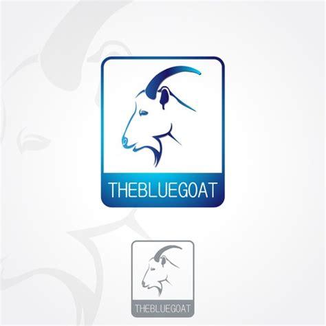 Blue Goat restaurant logo the blue goat logo design contest