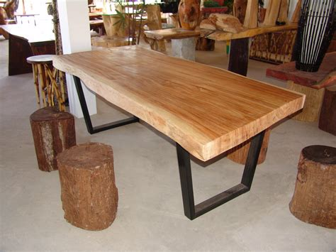 Acacia Wood Dining Table Live Edge Dining Table Acacia Wood Live Edge Reclaimed Solid