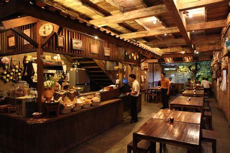 design cafe menarik warung suluh restaurant bandung jakarta100bars nightlife