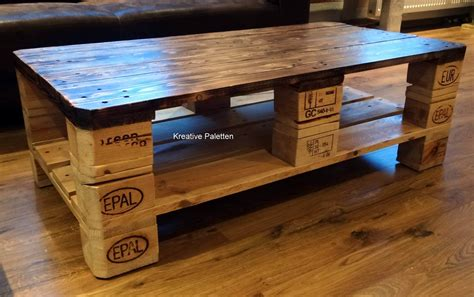 Bed Bench Diy Euro Pallet Wood Coffee Table