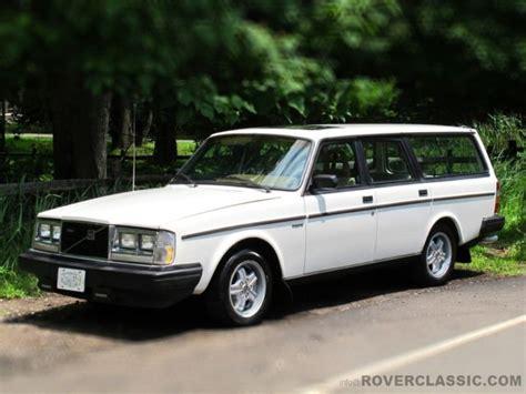 volvo  glt turbo manual gearbox station wagon  sale  technical