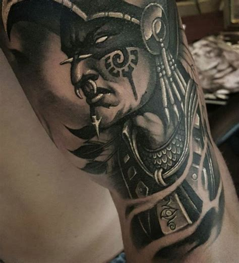 tattoo azteca aztec warrior by tat2beny mexicanstyle tattoos