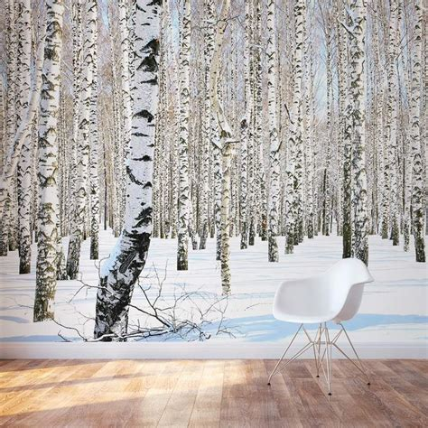 wall decor murals 25 best ideas about birch tree mural on tree