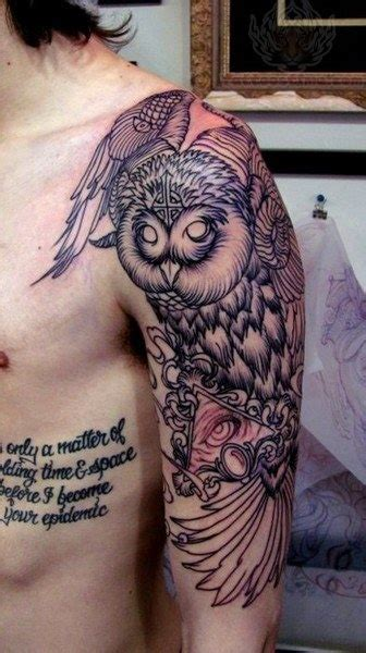 tattoo unrequited love owl tattoos on sleeve tattattack pinterest animal