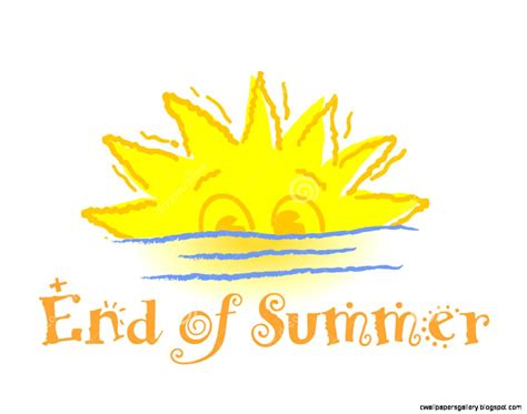 7 Reasons I Am Glad Summer Is Ending by End Of Summer Clip Wallpapers Gallery