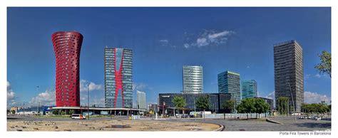 hotel porta porta fira towers in barcelona toyo ito und b720