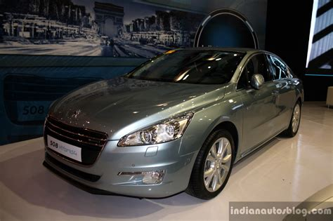 peugeot cars philippines peugeot 508 hyrbid4 at the philippines motor show 2014