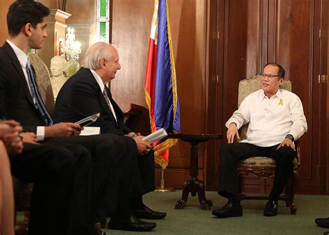 Conair Hair Dryer Philippines pnoy meets with conair corp founder photos gma news