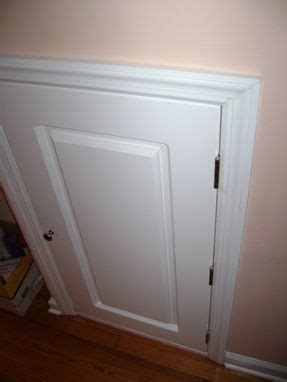 Custom Made Dormer / Crawl Space Door by JM Wood
