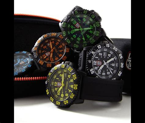 Luminox Tyrex Brown Coulor mo luminox watches made for the us army us navy seals www hardwarezone sg