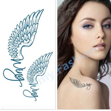 online get cheap men angel tattoos aliexpress com