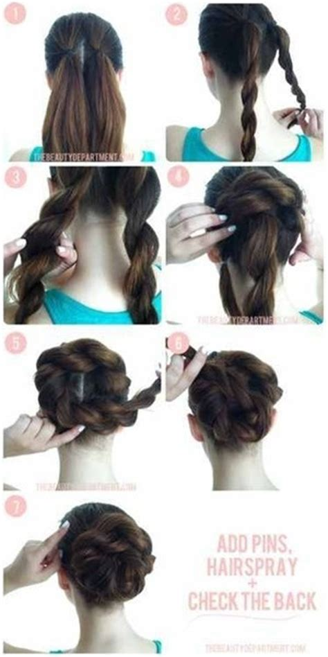Fast Hairstyles For School by Easy Fast Hairstyles For School Beautylish