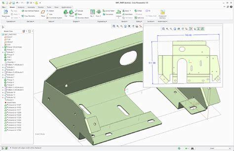 creo drawing pattern dimensions sheetmetal essentials using creo parametric savaco
