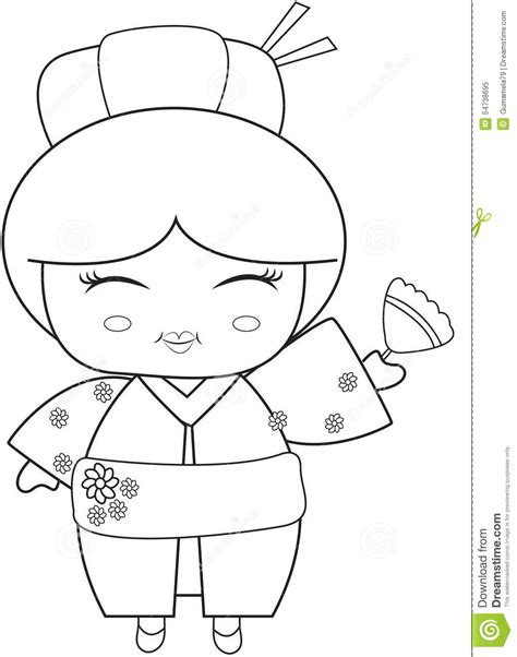 japanese zero coloring page japanese fan coloring page sketch coloring page