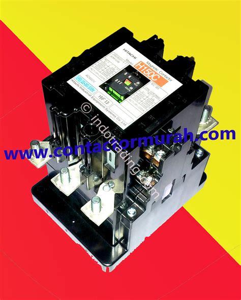 Kontaktor Hitachi H10c 110vac Murah jual hitachi h150c magnetic contactor harga murah jakarta oleh pd anugerah sejati