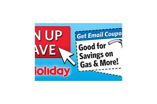 holiday gasoline coupons
