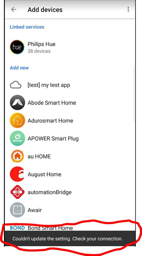 home actions api now available home