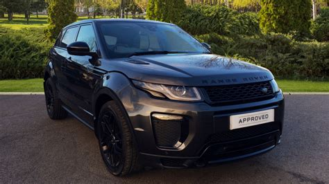 land rover range rover evoque  sd hse dynamic dr diesel automatic    land rover