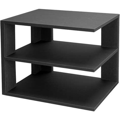 Corner Desk Shelf Unit 3 Tier Desktop Corner Shelf Black In Home Decor