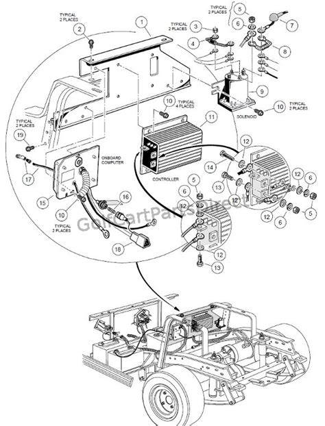 on board computer 48v club car parts amp accessories