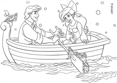coloring pages ariel and eric ariel and eric coloring pages hellokids com