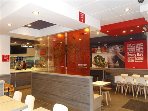 kfc store layout design three met shopfitters unit 2 30 progress road leigh on