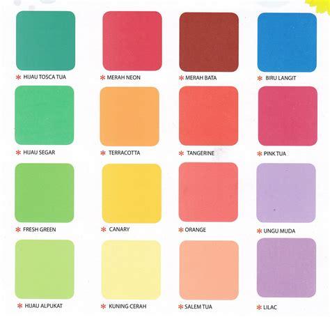 warna map untuk membuat kartu kuning daftar nama warna cat tembok untuk cat rumah selingkaran com