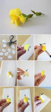 15 best photos of steps to make paper flowers how to make paper