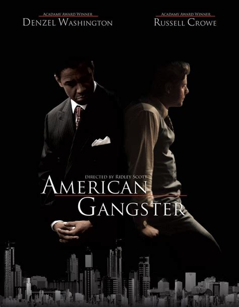 film gangster best american gangster movie poster featuring denzel