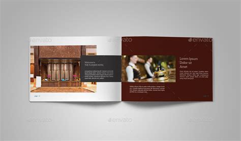 hotel brochure template hotel brochure by adekfotografia graphicriver